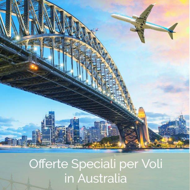 Offerte Speciali per Voli in Australia