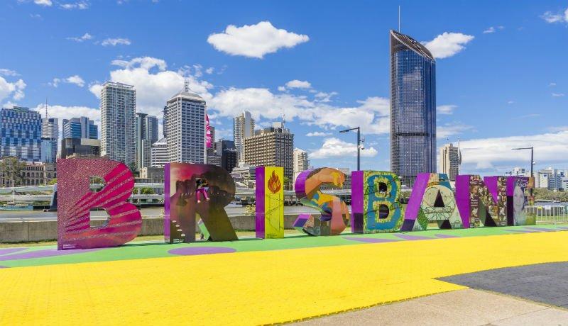 Brisbane, il centro città