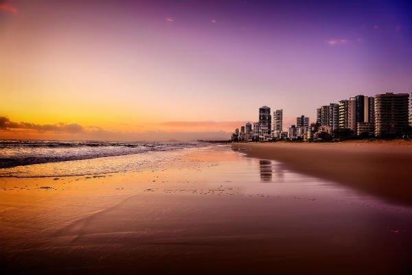 Spiaggia a Gold Coast