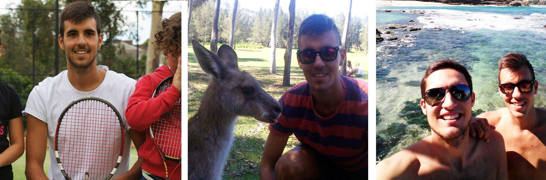 L'esperienza di Carmelo in Australia