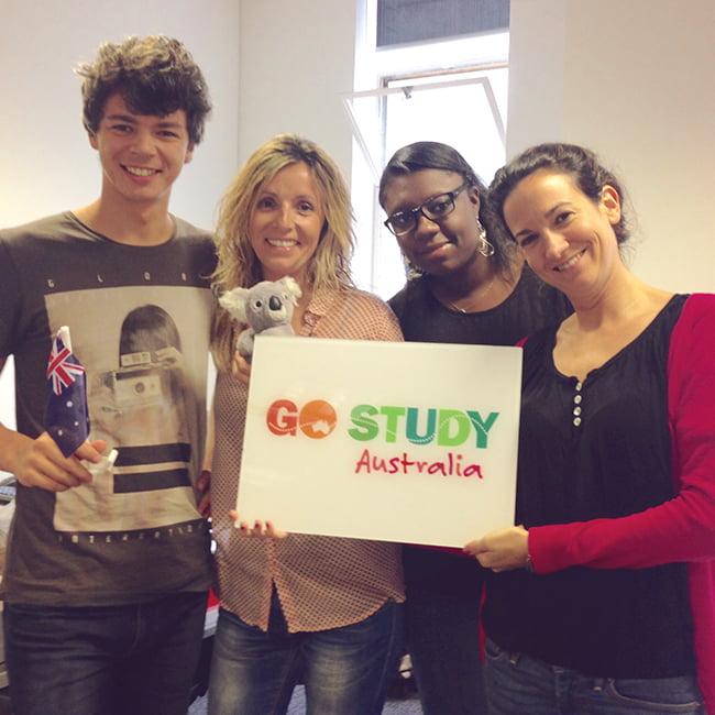 Team di Melbourne Go Study