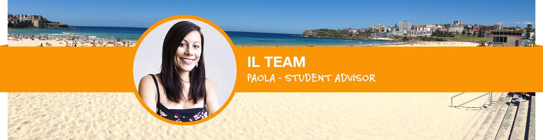 La storia di Paola - Student Advisor Go Study Australia - Ufficio di Sydney