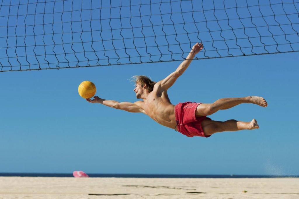 spiaggia australia volley