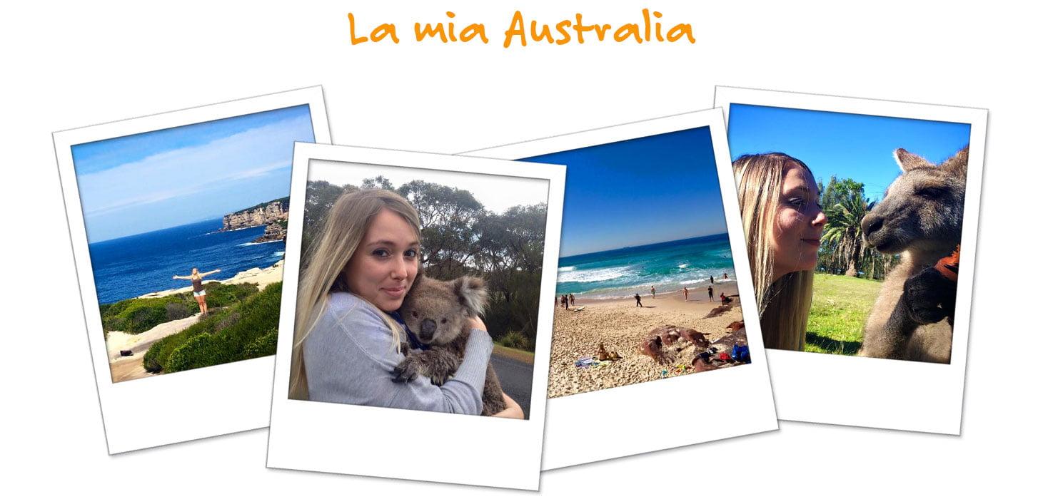 Le foto dell'avventura di Rossana in Australia
