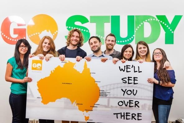 Go Study Australia Italia Team