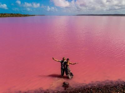"""L'Australia dei ragazzi di """"In Viaggio col Tubo"""": Hutt Lagoon"""