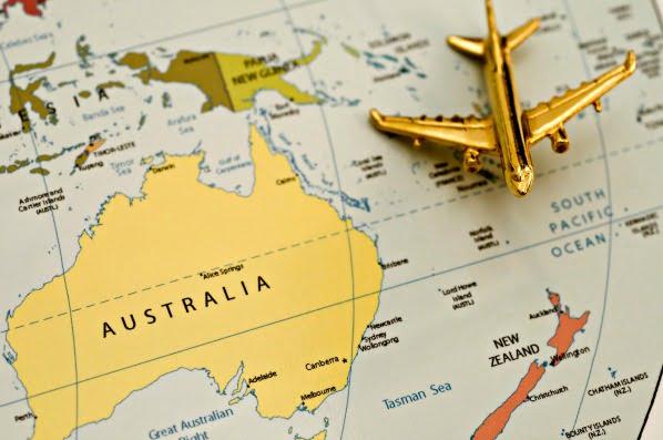 itinerario australia