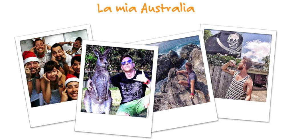 Le fotografie dell'avventura di Simone in Australia