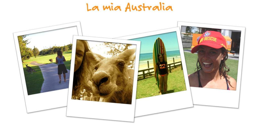 Le fotografie della vita di Luana in Australia