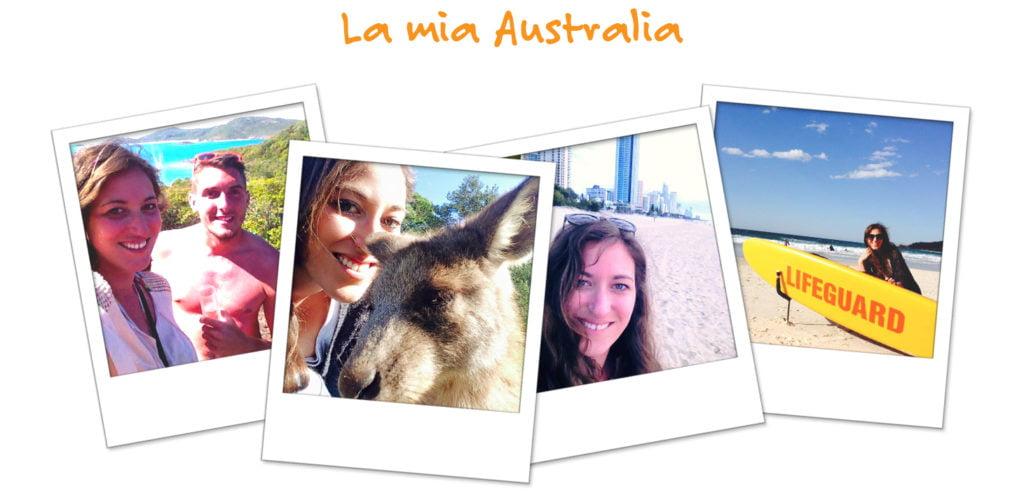 Le fotografie della vita di Monica in Australia
