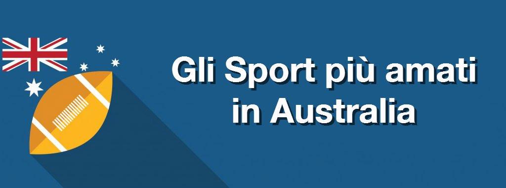 Gli sport più amati in Australia
