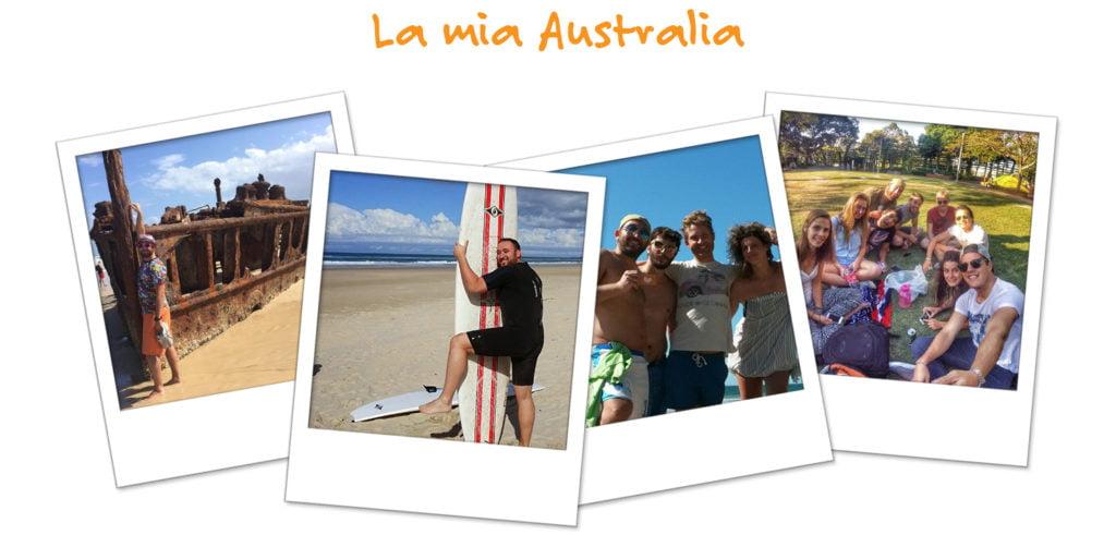 Le fotografie della vita di Stefano in Australia