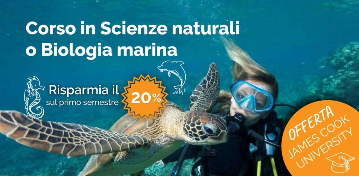 Offerta: Corso in Scienze naturali o Biologia marina in Australia