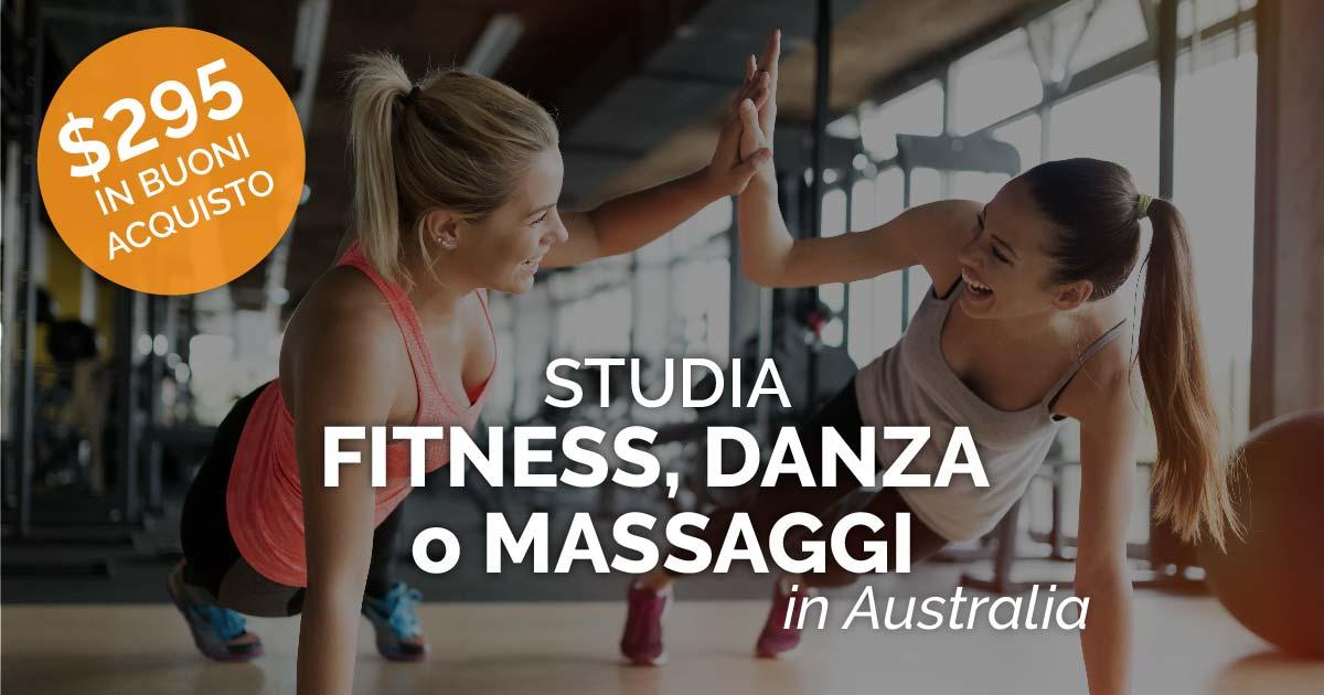 Studia Fitness, Danza o Massaggi in Australia
