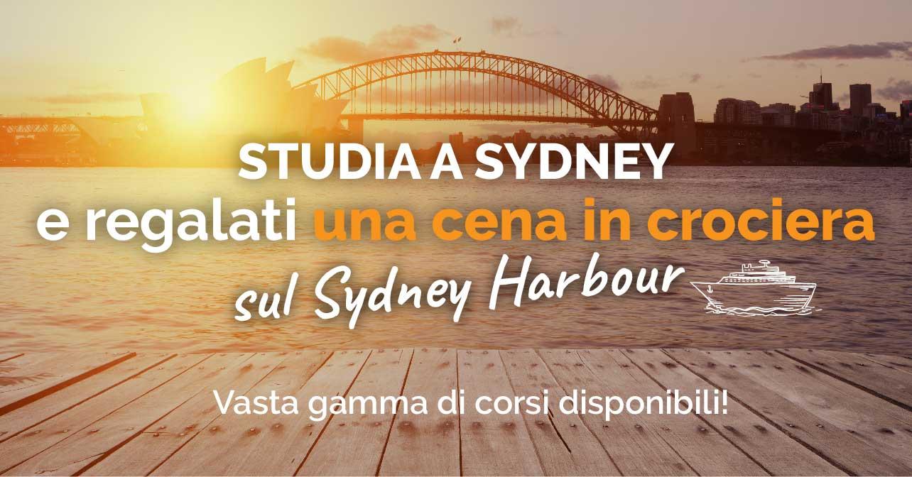 OFFERTA - Studia inglese a Sydney + In regalo Crociera sul Sydney Harbour