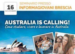 Seminario gratuito presso Informagiovani Brescia