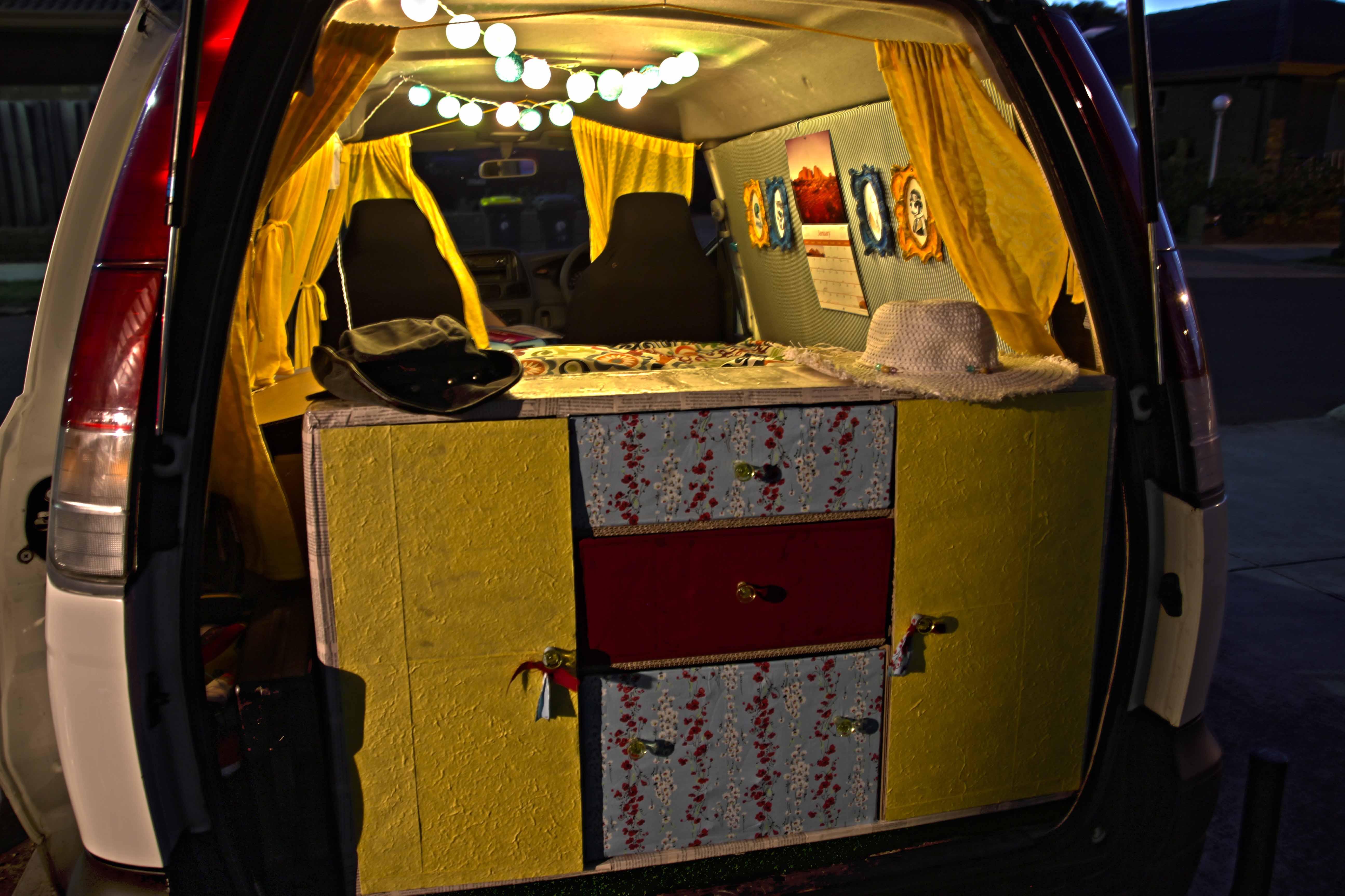 Alla scoperta dell'Australia con In Viaggio Col Tubo: il mini van Vanilla