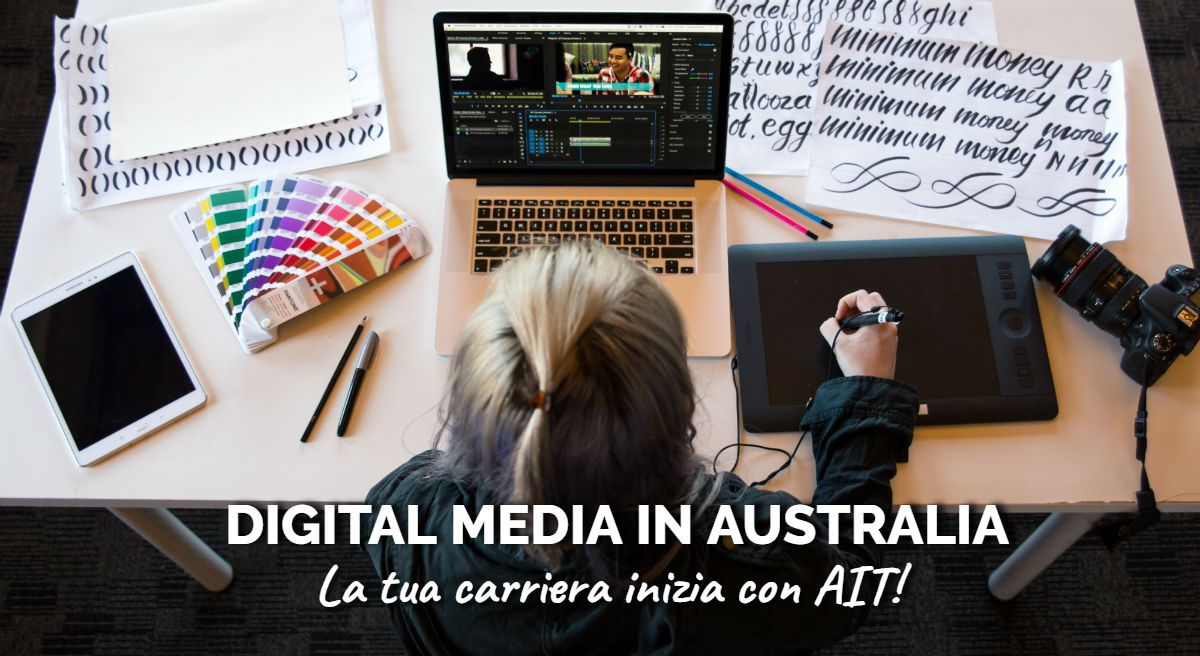 Offerta AIT - Corsi di Digital Design e IT in Australia