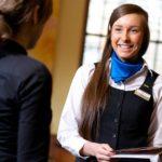 Abiti per lavorare nel hospitality