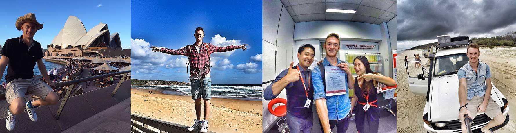 L'avventura di Alberto in Australia