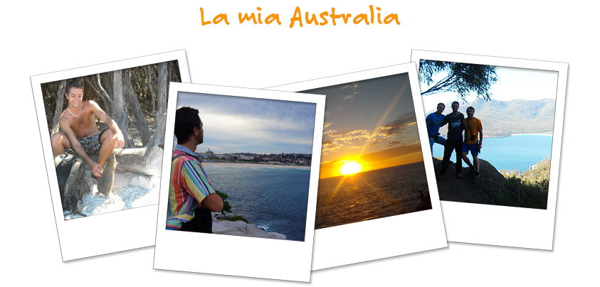 Le foto dell'avventura di Francesco in Australia