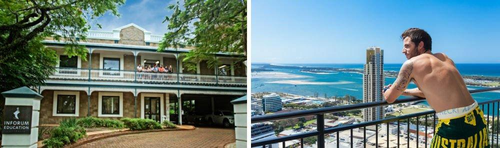 Impara l'inglese a Gold Coast!