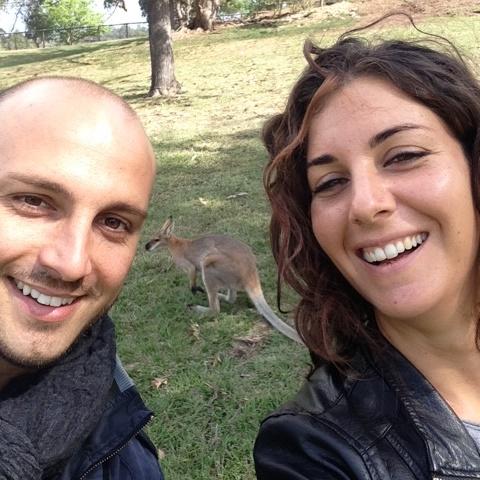 Francesca e Alessio a Brisbane