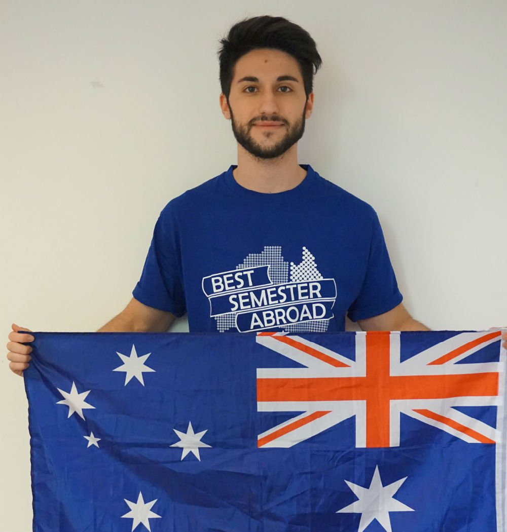 Luca Mele, vincitore del Best Semester Abroad