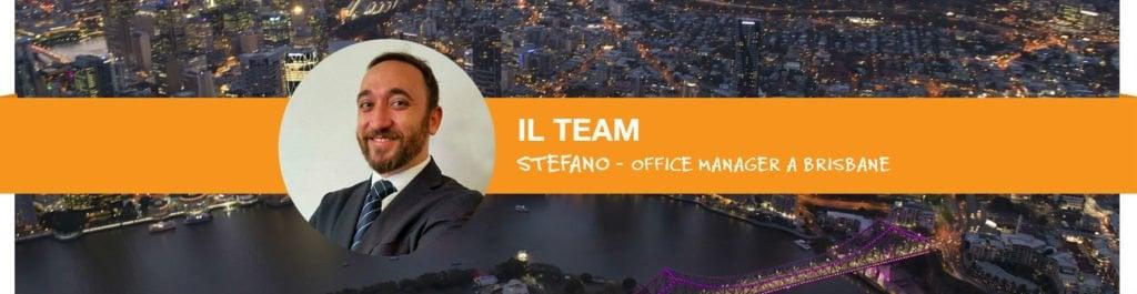 La storia di Stefano in Australia - Team Brisbane