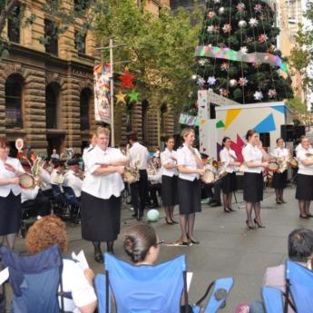 Canti di Natale in Martin Place a Sydney
