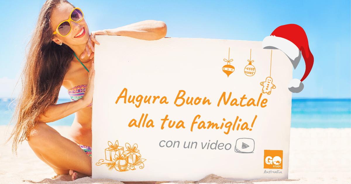 Manda il tuo Video di auguri natalizi con Go Study