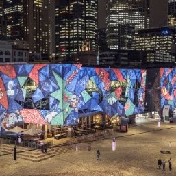 Melbourne Christmas Projections