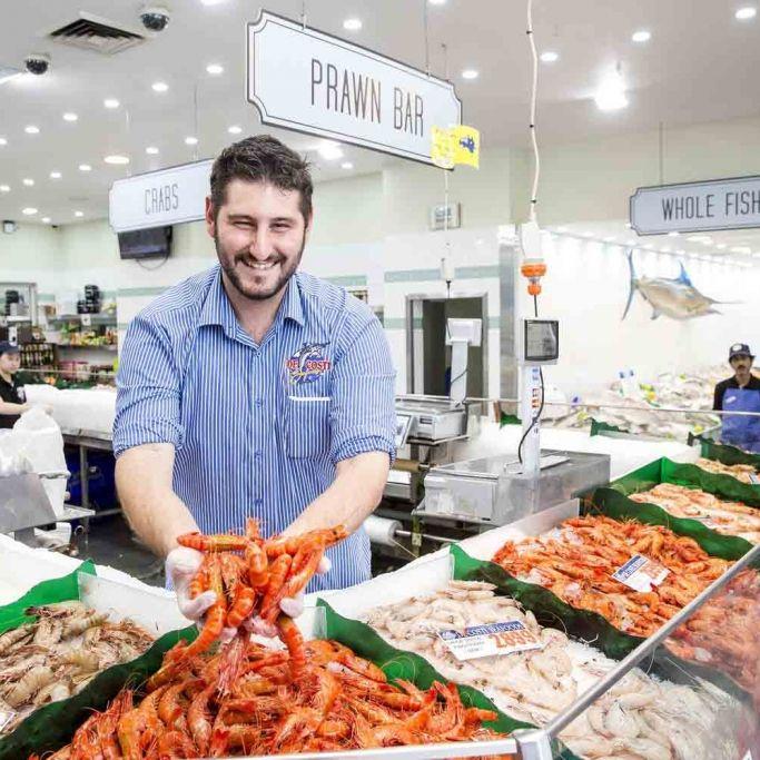 Maratona di pesce al Sydney Fish Market