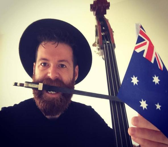 Dario, in Australia nel segno della musica