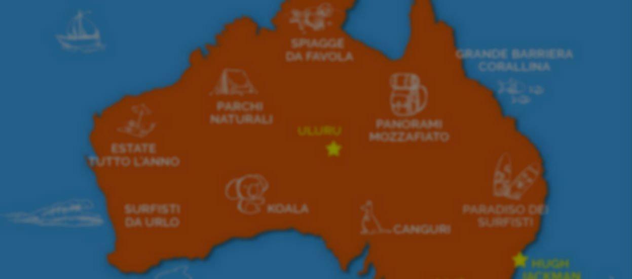 Cartina Politica Mondo 2017.Australia 10 Mappe Per Conoscerla Meglio