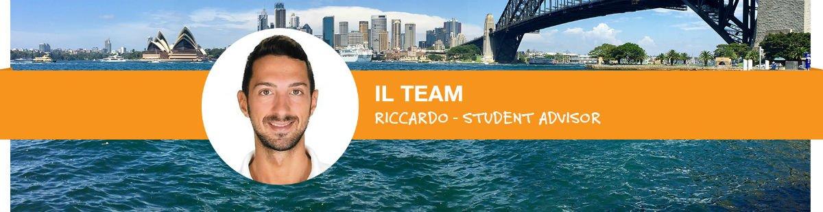 Ecco Riccardo, Student Advisor dell'ufficio Go Study di Milano