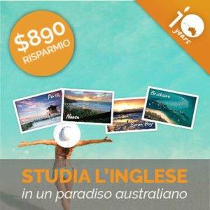 Offerta 10 Anni - Studia Inglese in un paradiso australiano