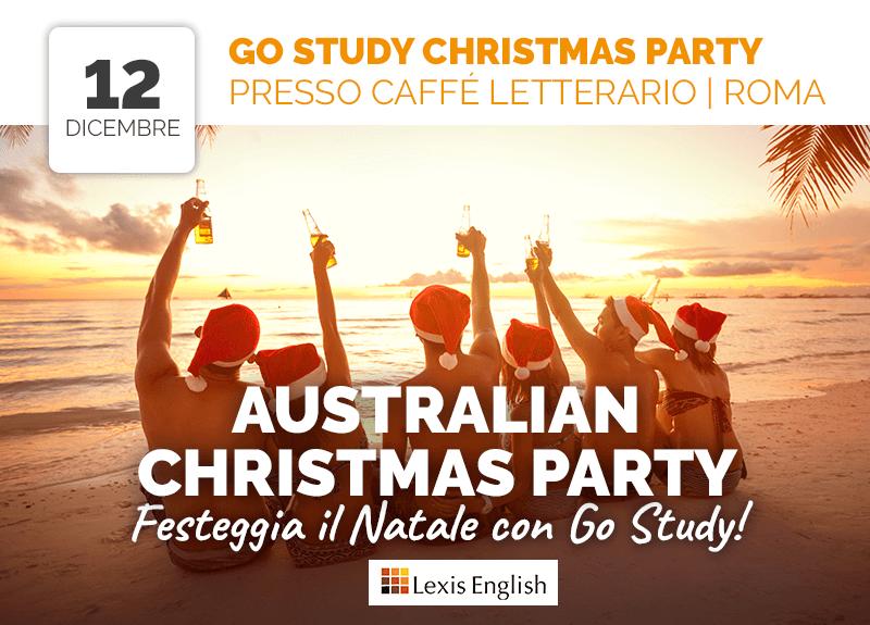 Go Study Christmas Party a Roma!