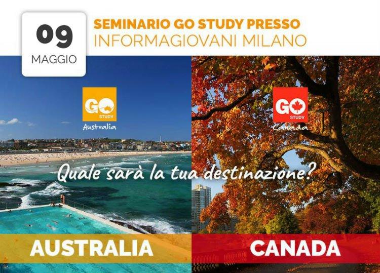 Seminario Go Study: Canada vs Australia all'Informagiovani Milano