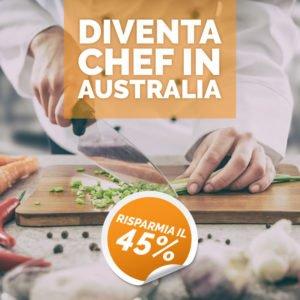 OFFERTA Diventa Chef in Australia