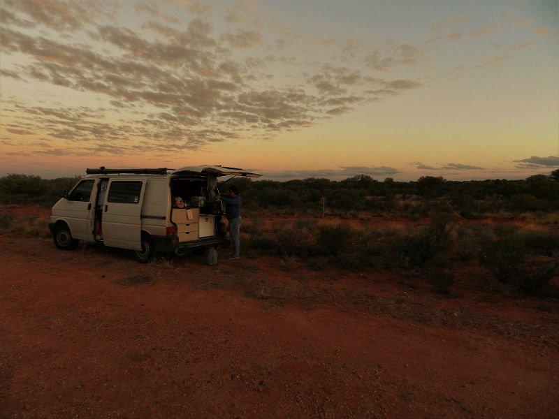 Scatti e Bagagli - Camping nell'outback