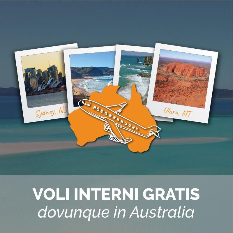 Studia in Australia e vola gratis dovunque vuoi