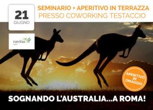 Seminario e Aperitivo Sognando Australia