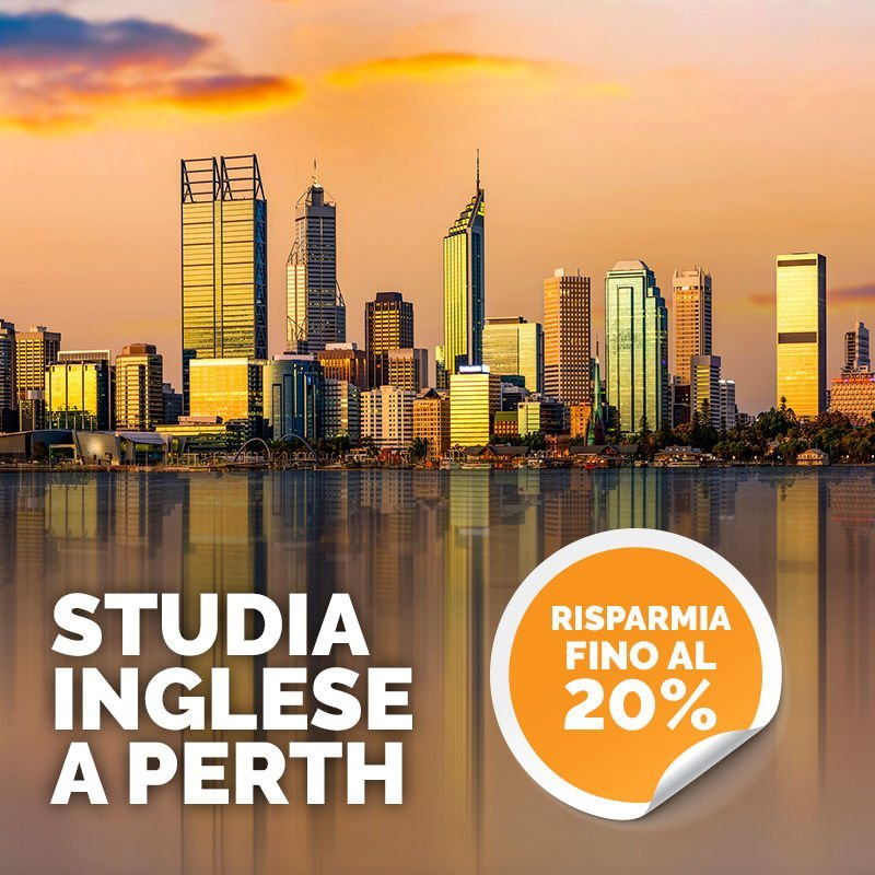 OFFERTA Studia inglese a Perth