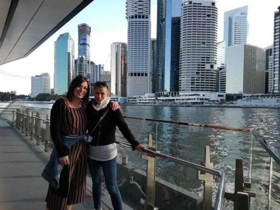 Anna e Roberta in Australia