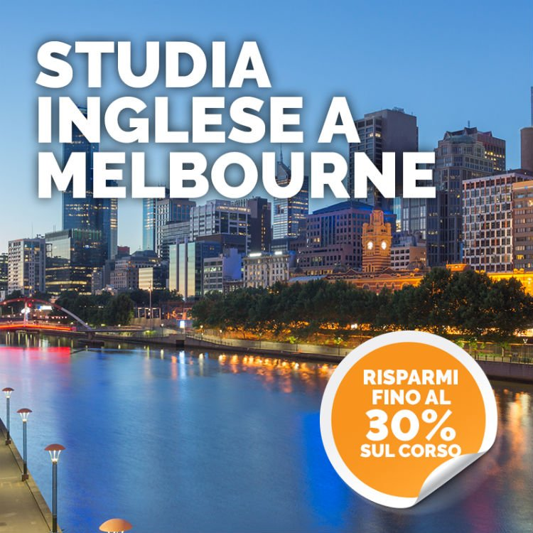 OFFERTA Studia inglese a Melbourne