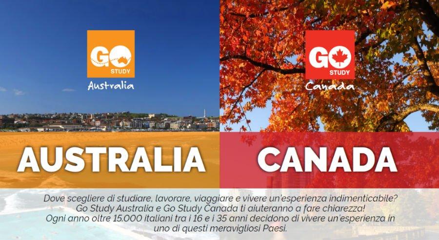 Australia vs Canada: un mondo di opportunità | Incontro a Torino