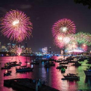 Natale in Australia: Fuochi d'Artificio a Sydney