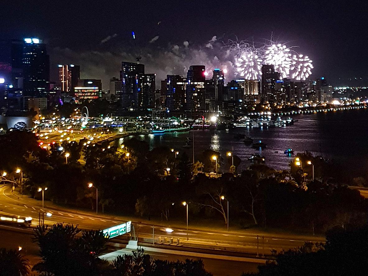 Capodanno a Perth