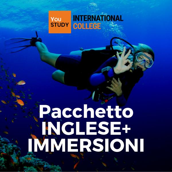 Pacchetto INGLESE+ CORSO DI IMMERSIONI a Cairns